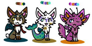 10 point cat adopts *CLOSED* by MonsterMakerNeko