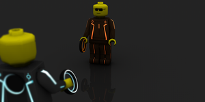 Tron Legocy 2 by theaaronp