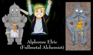 Alphonse Elric Ornament by All-shall-fade