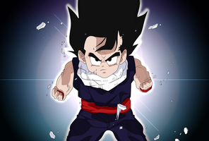 Son Gohan the Great by Artworx88