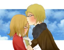 APH-my little brother-colored- by princessmikan