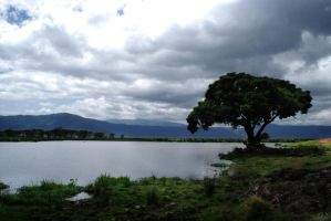 Ngorongoro Lake by nsrosenqvist