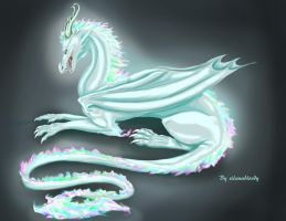 Ice dragon by silanabloody