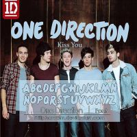 One direction   font by StillPhantom