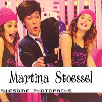 Photopack De Martina Stoessel +02 by AwesomePhotopaks