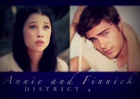Finnick and Annie- Dreamcast by MockingjayFly