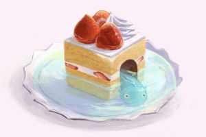 The resident of a cake by maricho