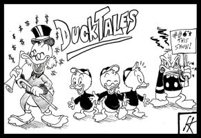 DuckTales - The Fair Review by devilkais