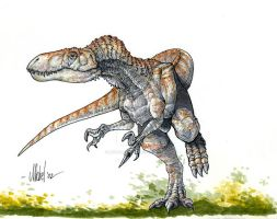 old Dinosaur sketch by MichelRipetti