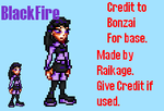 BlackFire Sprite by Raded-Raikage