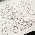 New Drawing In Progress by camilladerrico