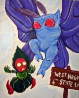 West Virginia Turf War by MechaDaveO