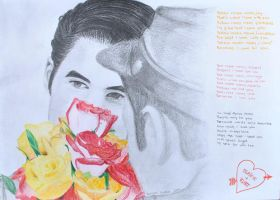 Klaine - Roses by lilmisscoolio