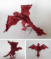Fire Wyvern by Cahoonas