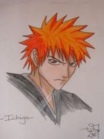 Ichigo - Bleach by IvoryPhoenix