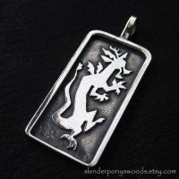 Silver Discord pendant by Sulislaw