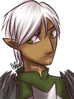 DA2: Fenris by Maryloza