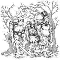 Orc Zombies by pictishscout