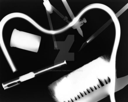 Photogram No. 3: My Tools by Hydromorphic-Twin