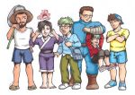 Youtubers in Pokemon World_COLOR by InnuDoggy