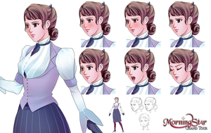 Susan Character Sheet by Renmiou