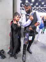 Lord Blackwater w/ Regina once upon a time by pa68