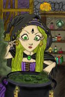 The Witch by AmazingArtist1
