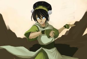 Toph WIP by Adcacai