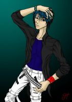 OC: Jesse Colored by Triptych-Schift