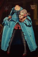 Marie Antoinette did not loose her head! by mathewhalpin