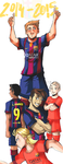 FUTBOL CLUB BARCELONA NEW SEASON by Sandra-delaIglesia