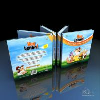 Hey Lenon Book Cover 3D Render by mike-reiss