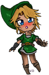 Chibi Link KAWAII!!!!! by VioletDemon