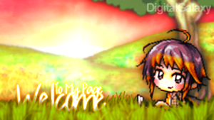 Banner | Welcome To My Page by DigitalGalaxy