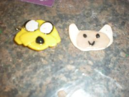 Finn and Jake Earrings by AquaNature10
