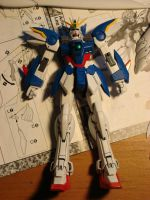 Wing Zero without wings by EpiyonVWingzero