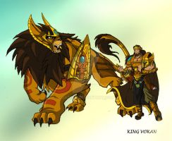 Beast Legion: King Vokan by JazylH