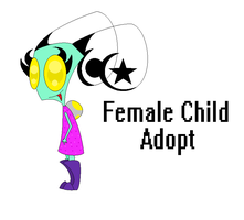 Female Child Adopt {CLOSED} by InvaderSony12345
