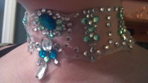 Sparkly Costume Necklace - Complete by ulfchild