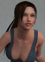 Young Lara Closer by JpauCroft