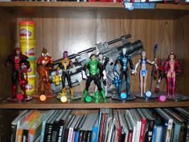Completed Lantern Corps set by Parallel1980