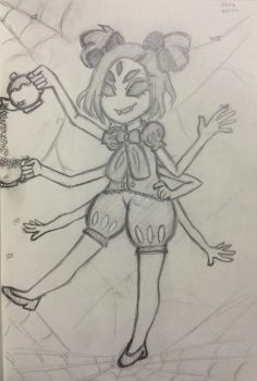 Muffet (Undertale) by MoonBerry82465