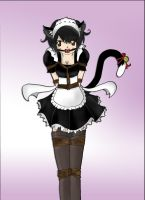 Kitty the Maid at your service! Bonus pic 3 by Natsuko-Hiragi