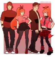 Ppg Ppk Rowdyright Rrb Reds by lilithkiss00