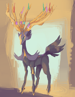 xerneas by haemorrhoid