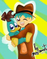 Perry and Doof by Grey-Sweet