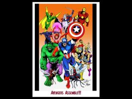 The Mighty Avengers by themightyjbowski