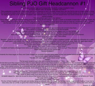 PJO Headcannon Gift for Sister by Queen-of-Ice101