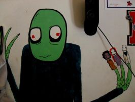 salad fingers by ruby-misted-eyes