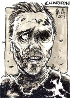 3/26/2014 Daily Sketch Card - Charlton by tbeistel